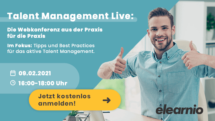 Talent Management Live Konferenz Banner