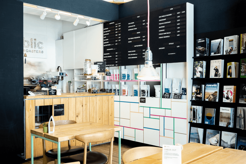 Bar von Public Coffee Roasters